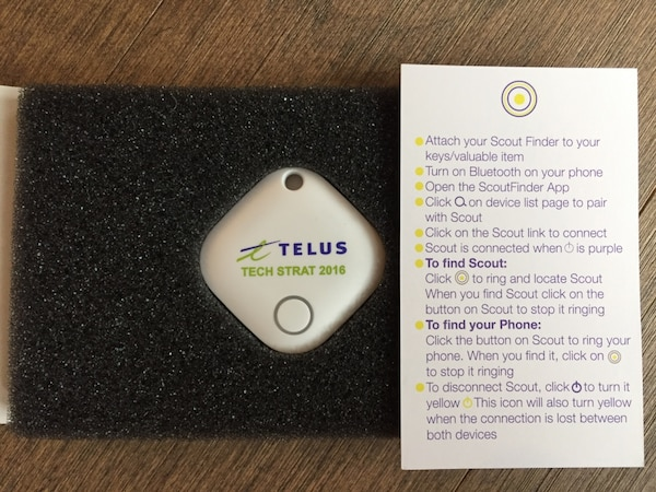 white Telus tech strat 2016 device