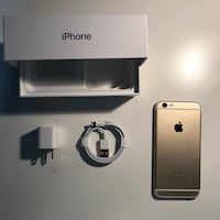 Gold iphone 6 set with box Calgary, T2G