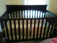 Crib with your changing table and mattress Tampa, 33604