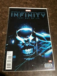 #1 Infinity Marvel comic book Thanos Toronto, M3C 4J1