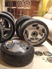 "4 18"" rims and tires  Bryans Road, 20616"