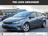 2017 Kia Forte LX with 58,280km with 100% approved financing Cambridge