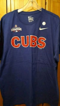 2XL Cubs World Series t-shirt with names on back  Ingleside, 60041