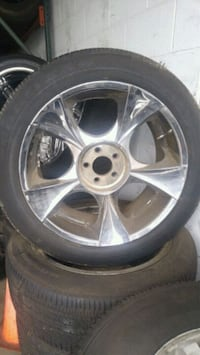 245/50/20 inch tires with free rims! Springfield, 01108
