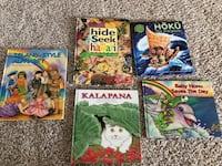 Hawaiian books set of 5 Pacifica, 94044
