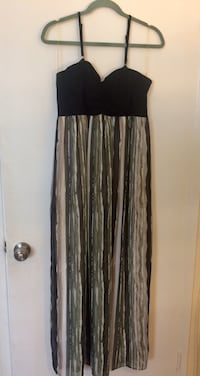 Long Dress with removable straps
