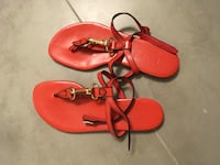 Burberry Authentic Red sandals size 5 Burnaby, V5G 1G5