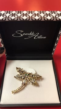 silver-colored butterfly charm with gemstones Roanoke, 24018