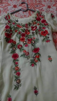 Embroidered dress ISLAMABAD