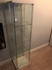 Display case (Brand New in box) 64Hx17W Assembly required!! Must pick up will deliver for additional $10 Schenectady, 12306