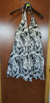 black and white floral sleeveless dress Greater London, E17 6FF