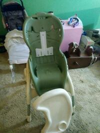 green and white plastic swing chair Honey Brook, 19344