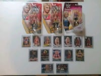 WWE ALEXA BLISS COLLECTION FIGURES AND CARDS MINT Austin, 78747
