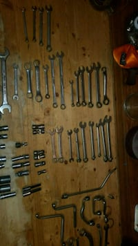 Lot of Vintage Wrenches and tools snap on and more