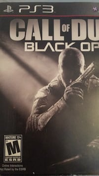 PS3 Call of duty black ops Coquitlam, V3K 6Y8