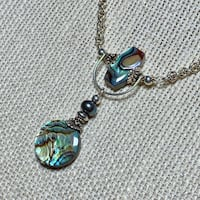 Genuine Sterling Silver Abalone Necklace Ashburn