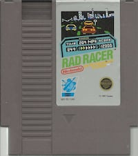 NES Rad Racer Original NES game cleaned, tested and working ++++++++++++++++++++++++++++++++++++++ Pick-up in Newmarket