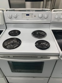 Whie Whirpool ring top stove Montreal