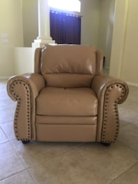 Leather reclining chair MIAMI