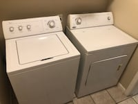 Whirlpool Washer and Dryer null