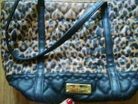 blue and white floral leather tote bag Salem, 97305