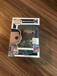 Russell Wilson Funko pop ( in Box) Vancouver, V6G