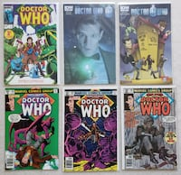 Doctor Who comic lot (6 books) Mount Airy