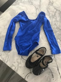 Dance body suit and slippers  3157 km