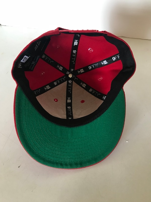 b3b91bfd2 Westside Red New Era Snapback Cap Hat by BORN X RAISED KRAZY Supreme