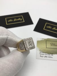 10k gold custom diamond ring 539 km