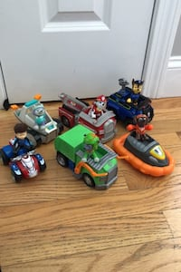 Paw Patrol Figure Vehicle LOT Toys