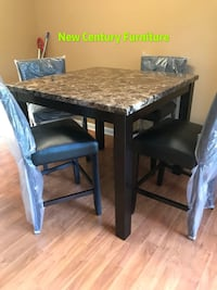 New 5 Pcs dining set counter height  Norcross
