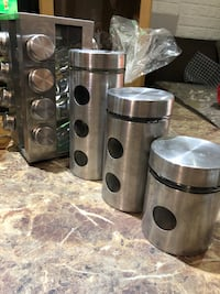 Stainless steel and kitchen set of 4 Richmond Hill, L4C 0B8