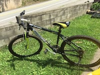 black and yellow hardtail mountain bike Point Marion, 15474