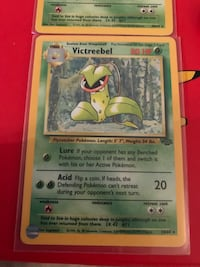 Pokemon Jungle Set Victreebel Non-Holo & Holo Rare Cards Vintage Richmond, V6Y 0A7