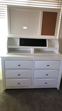 White wooden dresser  Lake Elsinore, 92530