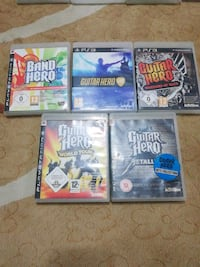 Ps3 guitar hero oyun cdleri