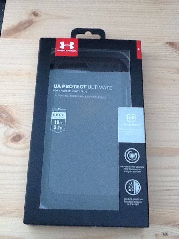 reputable site 70f2b db6bb iPhone 8 Plus / 7 Plus Case is Brand New Black Under Armour UA Protect  Ultimate UA Connect