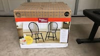 2 windsor chairs - new - still sealed in box
