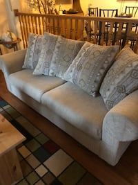 Must go before 1/25 Beige linen 2-seat sofa and love seat Germantown, 20874