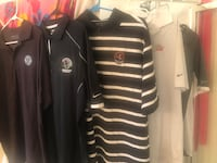 NikeGolf Dri-fit tees and Dri-thermal pullovers: M/L 2 ARE Tiger Woods