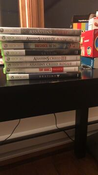 Assorted Xbox 360 games Colchester, 06415