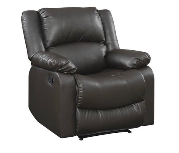 Large Recliner Single Chair in Java Leather. 91f07514-22bb-44a5-918f-fb3811b04891