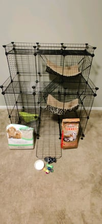 Ferret Cage and Accessories