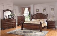 Isabella King / Queen 6pc Bedroom Set ($40 Down To Finance) Charlotte, 28216