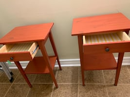 Table (nightstand / side table)