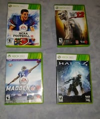 XBOX 360 GAME LOT Baton Rouge, 70816