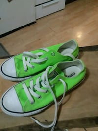 pair of green Converse All Star low-top sneakers Moline