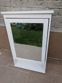 Ikea mirror with cabinet(almost new) Pickering, L1X 2K8