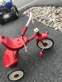 toddler's red and white Radio Flyer trike Frederick, 21704